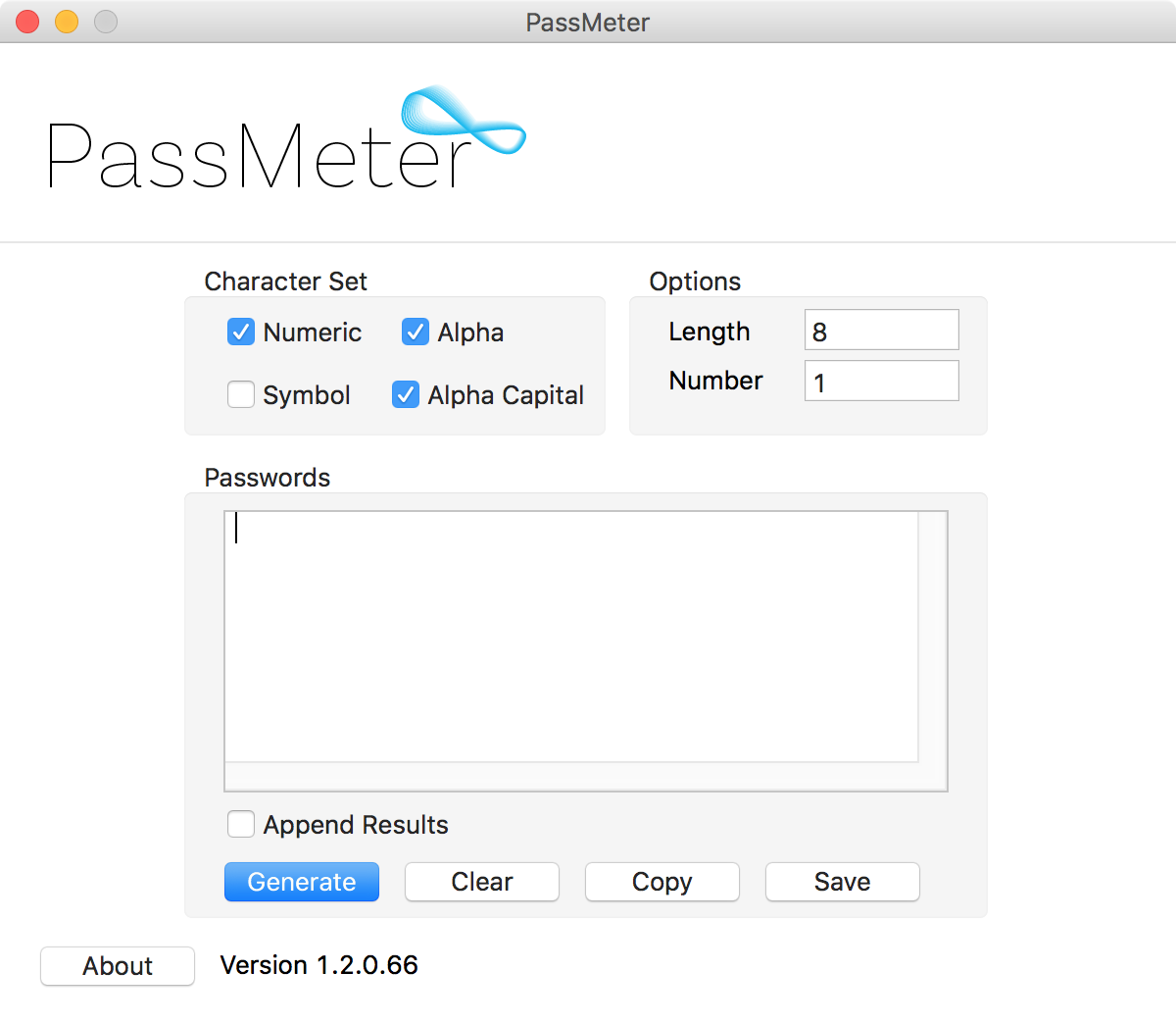 PassMeter Mac Screenshot